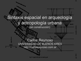 Sintaxis espacial en arqueología y antropología