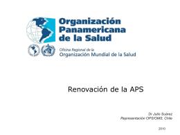 APS - PAHO/WHO