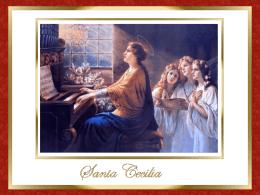 Santa Cecilia - Alianza en Jesús por María