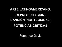 y sanción institucional - Facultad de Bellas Artes