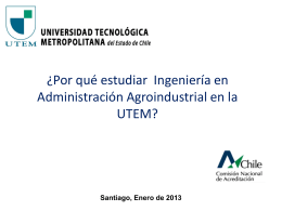 Ingeniería en Administración Agroindustrial