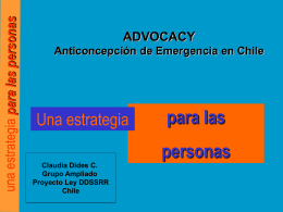 Anticoncepción de emergencia en Chile