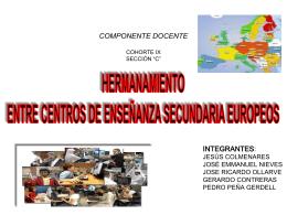 """COMPONENTE DOCENTE COHORTE IX SECCIÓN """"C"""""""