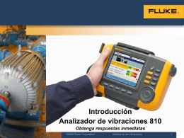 810 Vibration Tester Training