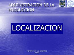 7: Localización