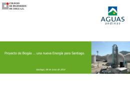 biogas_stgo - Colegio de Ingenieros Agronomos de Chile