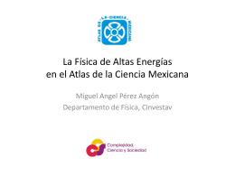 Física mexicana: evolución de la planta académica