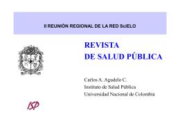 Revista de Salud Pública
