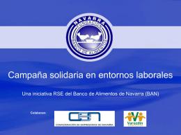 Campaña Solidaria para Empresas (BAN)