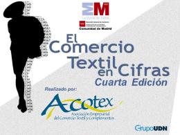 El comercio textil en cifras (cuarta edición)