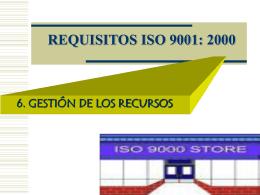 A11. REQUISITOS 6 GESTIÓN DE LOS RECURSOS