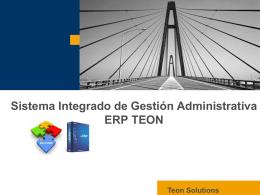 Información - Teon Solutions