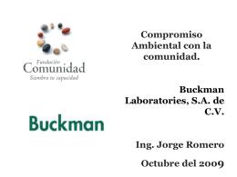 Presentaci n para Buckman Comunidad 2009