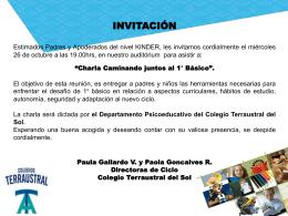 Lenguaje y Comunicación 2009 - Colegio Terraustral del Sol