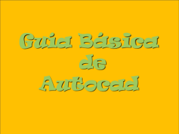 Apuntes Autocad - Diego Carballal Fernandez