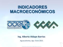 indicadores macroeconomicos enero 2015
