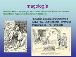 imagología (síntesis en español)