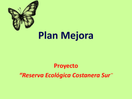 Power Point Reserva3 - Programa 2Mp