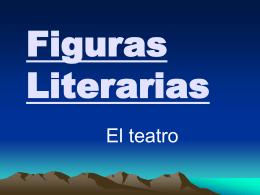 figuras literarias- el teatro
