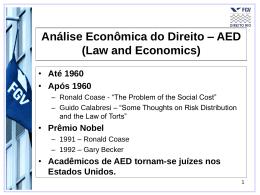Slide 1 - Acadêmico de Direito da FGV