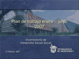 Dirección de Formación Social - Centro Virtual de Aprendizaje