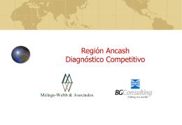 ANCASH - Comercio internacional