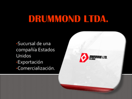 DRUMMOND LTDA