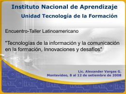 seminario_taller_u - Instituto Nacional de Aprendizaje