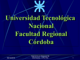 Jornada Ingresantes 2010 - Universidad Tecnológica Nacional