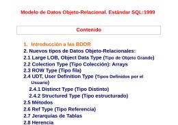 Unidad1 SQL1999_PrimeraParte