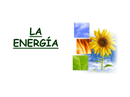 LA ENERGÍA - mrs. belchi`s site