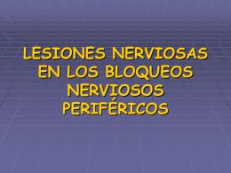 lesiones neurologicas en los BNP