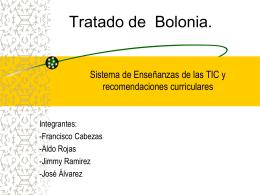 Tratado de Bolonia.