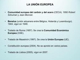 UD 6 Unión europea