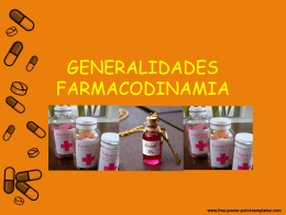 FARMACODINAMIA 15