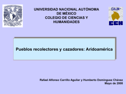 Aridoamérica - Portal Académico del CCH