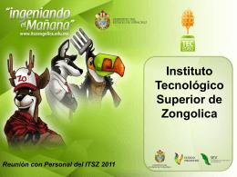 ORGANIGRAMA_ITSZ - instituto tecnologico superior de zongolica