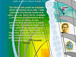 Cuadro Histórico del Siglo XIX de Don Bosco