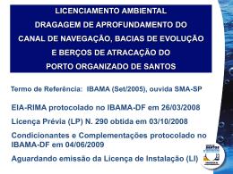 Licenciamiento Ambiental: Estudio para la autorización del