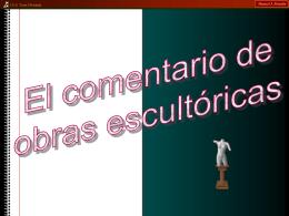 Comentario_Escultura