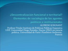SEMINARIO CEPAL Alfredo Joignant