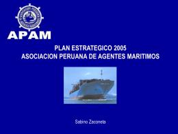 PLAN ESTRATEGICO 2005 ASOCIACION PERUANA DE AGENTES