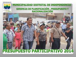 Diapositiva 1 - Municipalidad de Independencia