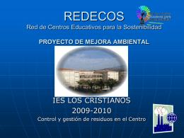 REDECOS Red de Centros Educativos para la