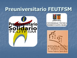 Preuniversitario FEU..