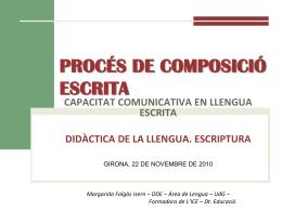 proceso de composición escrita