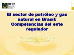 Los Mercados de Petróleo y Gas