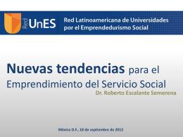 Dr. Roberto Escalante Semerena - Orientación y Servicios Educativos