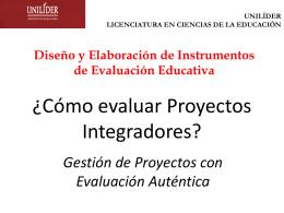 j. Proyectos Integradores y Aprendizaje Colaborativo 2011