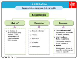 Partes narración
